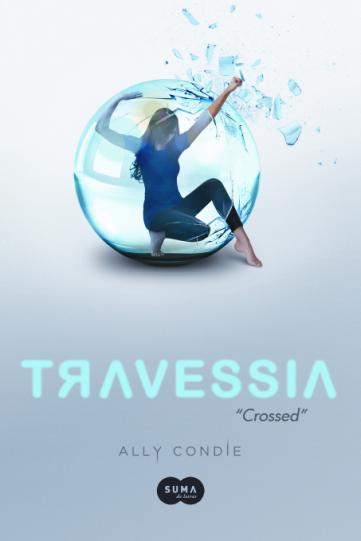 "Capa brasileira de ""Crossed"", de Ally Condie"